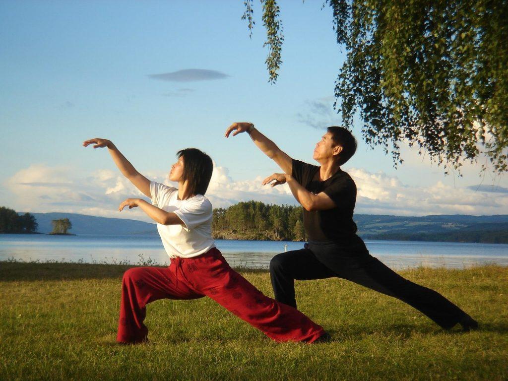 Картинки цигун упражнения
